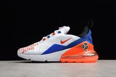 """5257230545 Nike Max 270 GS """"FIFA World Cup Russia 2018"""" White/Racer Blue-Unvrsty Red  AQ7982-406"""