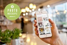 iPhone 6 - 10 photo mockups by show it better on Creative Market