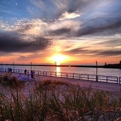 Beautiful sunset taken by @Damas Kass along the #GrandHaven boardwalk #visitgrandhaven #puremichigan