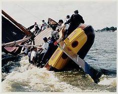 Skutsje-silen Dutch Barge, Canal Boat, Tall Ships, Sailboats, Windmill, Boating, East Coast, Sailing Ships, Netherlands