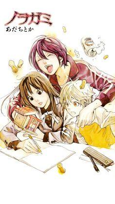 Yato, Yukine and Hiyori