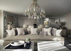 Top 10 Innenarchitektur Projekte von Kelly Hoppen | Inneneinrichtung von die besten Innenarchitekten. Chalet in Schweiz. Modern Wohnzimmer und modern Schlafzimmer in Luxus Hause. http://wohn-designtrend.de/top-10-innenarchitektur-projekte-von-kelly-hoppen/
