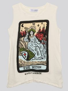 The Witch Muscle Tank - Gypsy Warrior