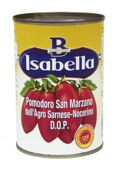emballage, conserves de tomates Isabella