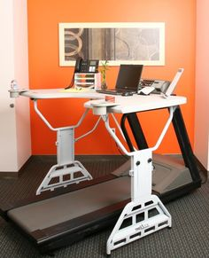 Treadmill Desk Lets You Work While You Exercise and Vice Versa