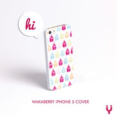 Take Wakaberry with you, no matter where you go!  Get your Wakaberry Iphone 5 Cover at Wakaberry George Caledon Square #wakaberry