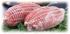 10 Meters - SAUSAGE White/White Butchers Roastable High Quality Meat Netting