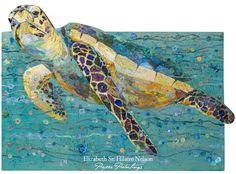 Elizabeth St. Hilaire Nelson New Sea Turtle Cut Outs!