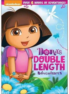 Dora the Explorer: Dora's Double Length Adventures DVD Giveaway Dora's DVD collection, Dora the Explorer: Dora's Double Length Adventures, features three of her most exciting and educational. Dora Toys, Dora Cartoon, Dora Games, Dora And Friends, English Games, Abc Alphabet, Thing 1, Anime Child