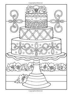 Creative Haven Designer Desserts Coloring Book (Creative Haven Coloring Books): Eileen Rudisill Miller, Creative Haven: 9780486496320: Amazo...