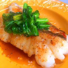 Fish Recipes, Seafood Recipes, Asian Recipes, Whole Food Recipes, Dinner Recipes, Cooking Recipes, Healthy Recipes, Tasty Dishes, Food Dishes