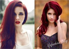 sexy and charming red ombre hairstyles and color. I wouldnt mind a purple tint to it but this is a color Id like if Id ever b bold enuf to try it.