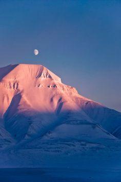 Hiorthfjellet, Spitsbergen, Norway
