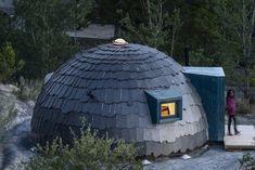 Xiglú Laqaba | XILACURVE Tyni House, Dome House, Cabin Tent, Micro House, Small Living, Slate, Outdoor Gear, Tents, Beetle