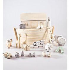 East of India Wooden Noah's Ark Gift Set