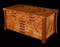 Recurve Jewelry Box