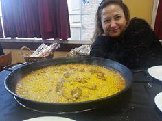 Paella en Murcia.