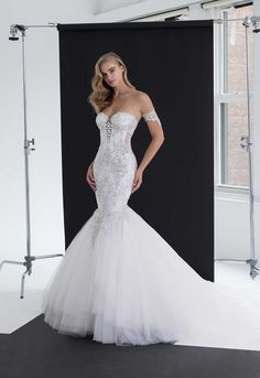 With millions of fans worldwide, Pnina Tornai has established herself as a renowned top couture fashion designer. 2015 Wedding Dresses, Luxury Wedding Dress, Wedding Dress Styles, Bridal Dresses, Wedding Gowns, Lace Wedding, Wedding Outfits, Pinina Tornai Wedding Dresses, Tulle Skirt Wedding Dress