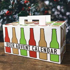 The Beer Advent Calendar Is An Excellent Way To Drink Your Way Towards Christmas