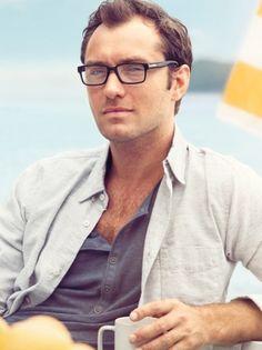 Jude Law Vogue Eyewear 2013