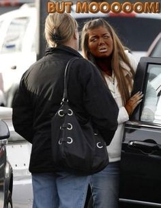 Mom Has Talk with Teenager Daughter Over Tanning Addiction and Makeup Fails ---- Rachel Dolezal must be soooo jealous!!