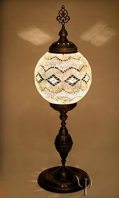 Unique Extra Large Turkish Handmade Mosaic Floor by LampsGalaxy Moroccan Floor Lamp, Large Floor Lamp, Glass Bead Crafts, Lantern Chandelier, Lanterns, Starry Lights, Turkish Lamps, Large Chandeliers, Handmade Lamps