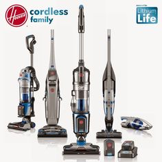 Hoover Vacuums' Cordless Family Shares a LithiumLife Battery #modern trendhunter.com