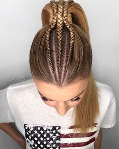 Long hair styles image by Styles Rant on Long Hairstyles Baddie Hairstyles, Hairstyles With Bangs, Straight Hairstyles, Braided Hairstyles, Cool Hairstyles, Gorgeous Hairstyles, Romantic Hairstyles, Wedding Hairstyles, Long Textured Hair