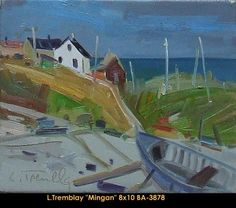 Original oil painting on canvas by Louis Tremblay Galerie D'art, Canadian Artists, Oil Painting On Canvas, Original Paintings, Landscape, Paint, Scenery, Corner Landscaping