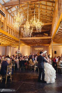 Chandalier Barn Wedding Reception By Houston Photographer Www Jonathanivyphoto