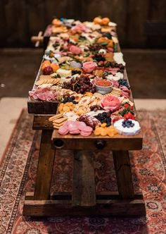 A Foodie Feast: Wedding Grazing Tables and Feasting Tables | OneFabDay.com Ireland