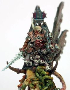 Champion, Chaos Warrior, Nurgle, Realm Of Chaos, Warhammer Fantasy, Warriors