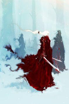 Snowmaiden of Dursan's Peak by Aaron Nakahara