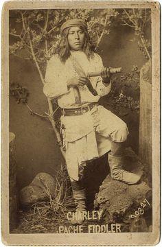 Charley, Apache fiddler.