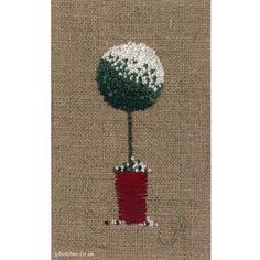 Snow Topiary Tree