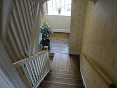 Stairs at Chawton house
