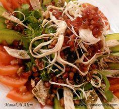 سلطة الجبن المجدل #salad #recipes