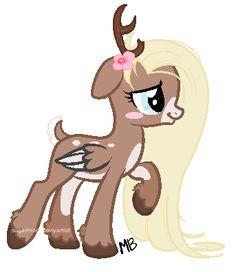 Custom deer pony for by SugarMoonPonyArtist on DeviantArt Cute Ponies, Deer Family, Mlp Pony, Mlp My Little Pony, Cute Doodles, Equestria Girls, Book Of Shadows, Scooby Doo, Cuddling