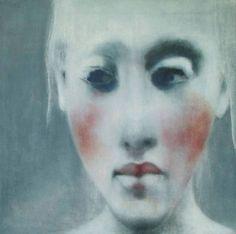 """Saatchi Art Artist c o r ı n n a w a g n e r; Painting, """"die Nachricht"""" #art"""