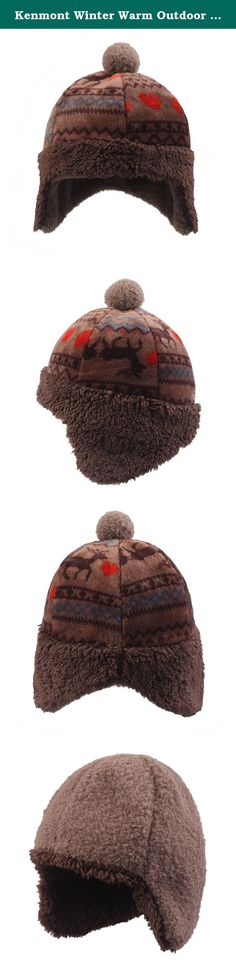8e6adb6c4c6 --Brand  Kenmont --SKU  --Color  --Size  One --Material  Fabric  Polyester  --Main Feature Earflap Warm ski hat.