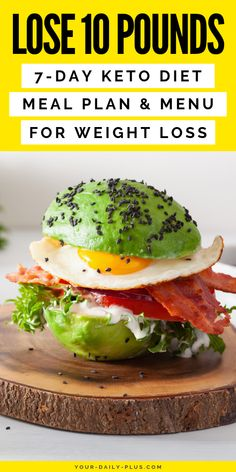 Want to start the keto diet? As with any restrictive diet, the keto diet comes with a set of challenges and foods you must avoid. Our free keto diet menu has everything you need to drive and keep your body in the state of ketosis with incredible results. Diet Dinner Recipes, Dinner Salads, Diet Recipes, Healthy Recipes, Healthy Food, Yummy Food, Keto Meal Plan, Diet Meal Plans, Lunches And Dinners