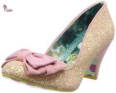 Irregular Choice Ban Joe, Escarpins femme - Rose, 38 EU - Chaussures irregular choice (*Partner-Link)