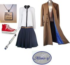 """""""Tenth Doctor Outfit"""" by accidentallysyd on Polyvore"""