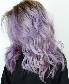Silvery lilac that @larisadoll demonstrated on Periscope. Her technique, tips, and tricks coming soon to Olaplex YouTube.