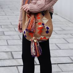 Colorfully. Don't care. #bags #color