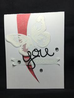 Stampin up butterflies
