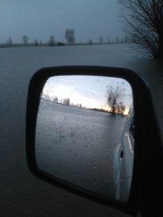 The Netherlands, stuck under water.