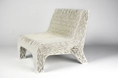 Designer 3D Prints a Chair With Multiple Soft and Rigid Areas, Ideal for Comfort