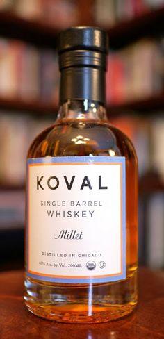 The Koval Single Barrel Millet Whiskey