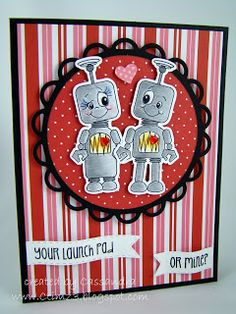 CREATING with COLOR by CASSANDRA: Peachy Keen Stamps ~ February Stamp Release Party : Challenges